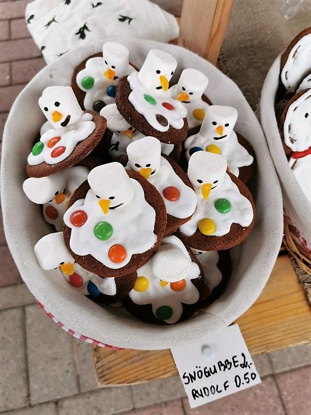joulu joulumarkkinat joulukoriste pipari leivonnainen Maarianhamina Ahvenanmaa