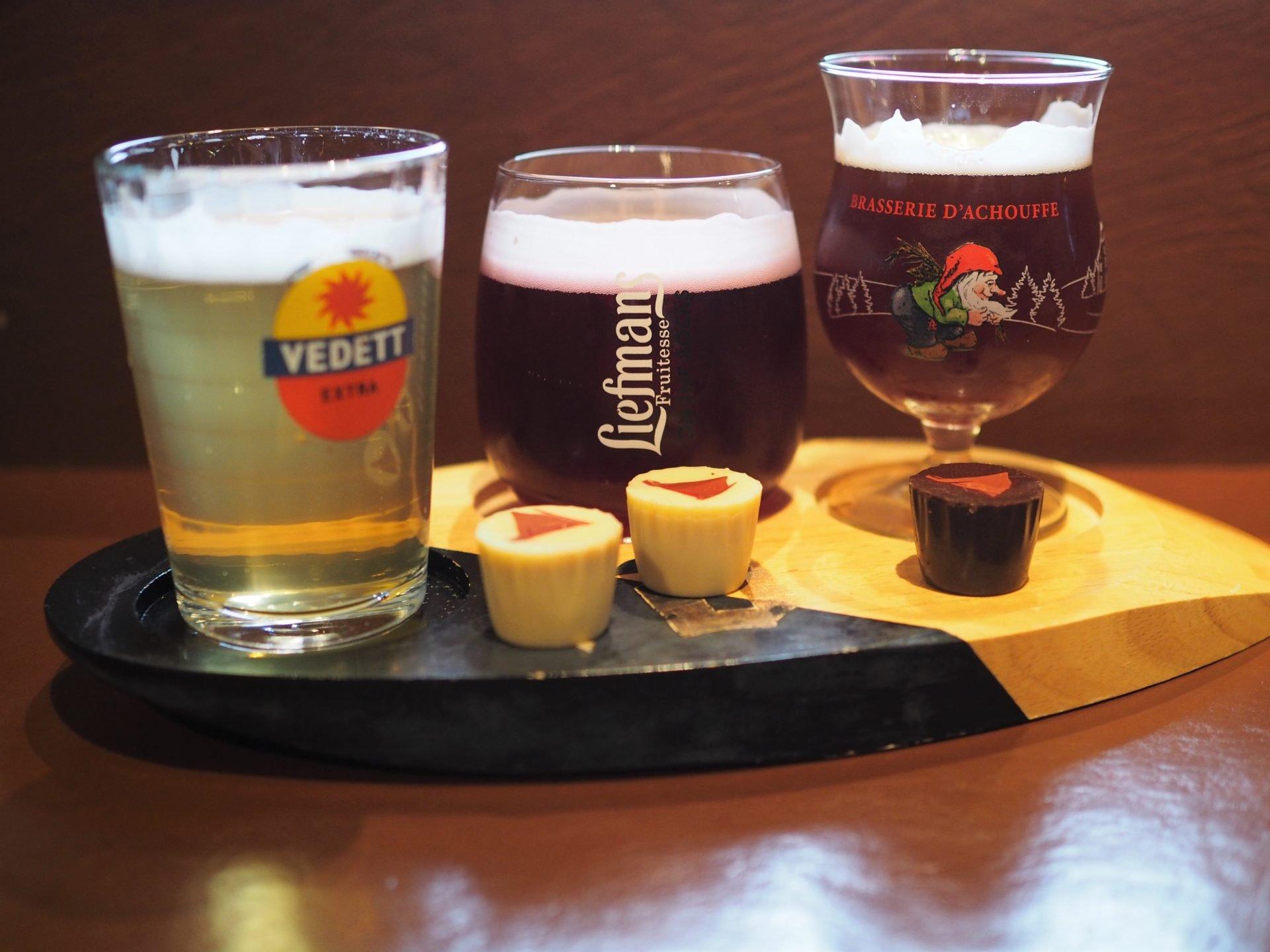 brugge belgialainen olut suklaa