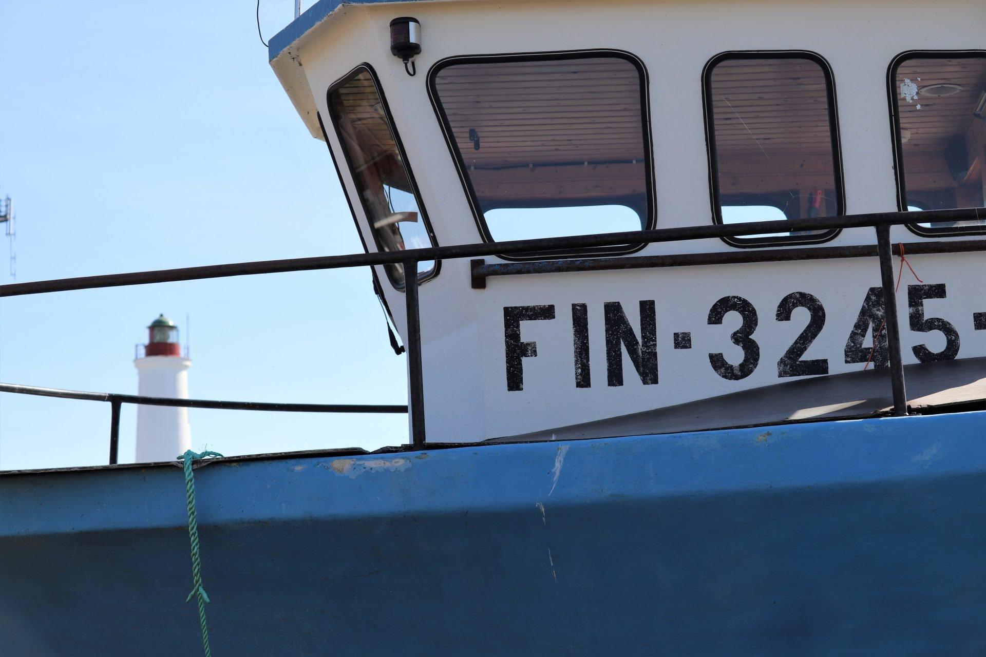 Hailuoto laiva vene kalastaja majakka