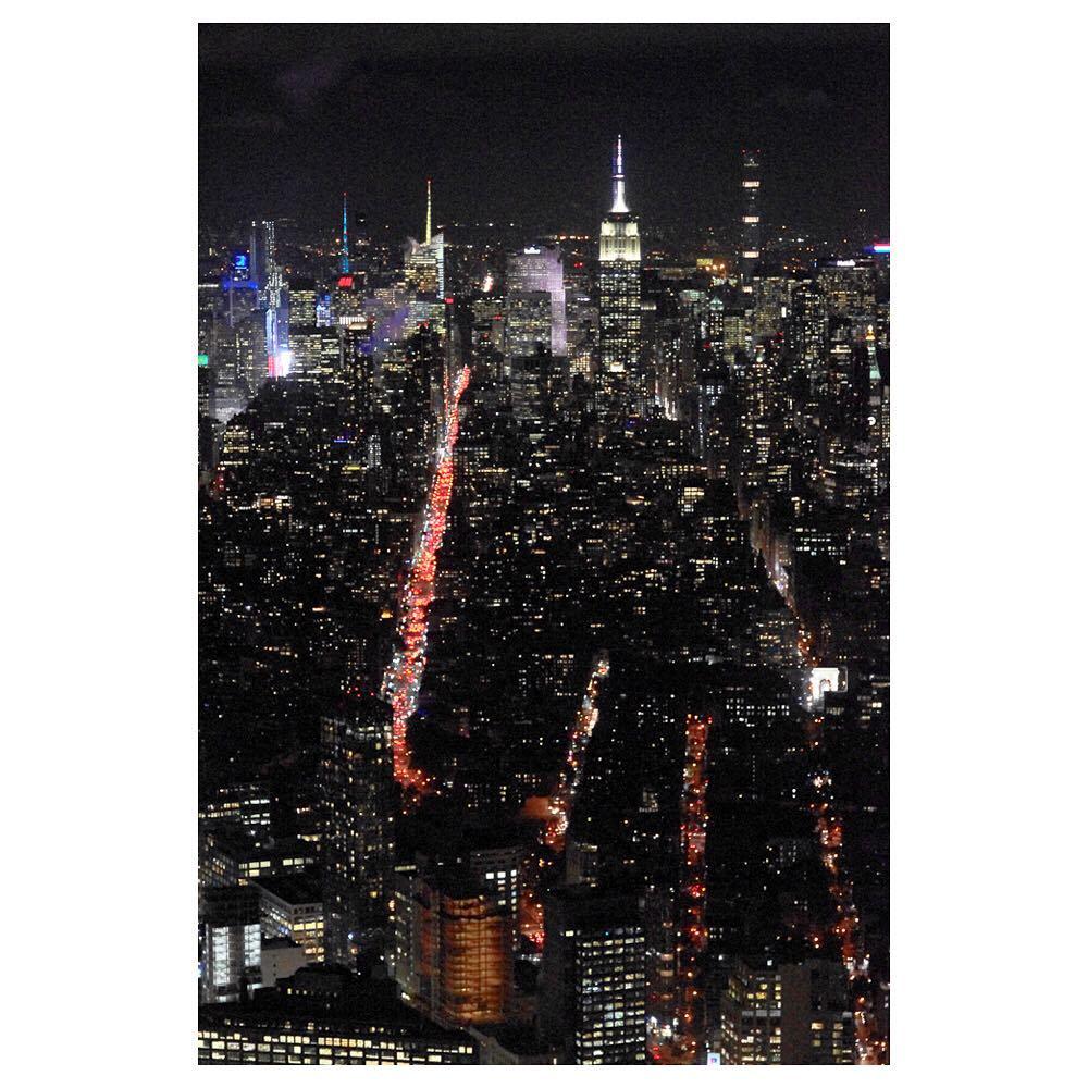 Manhattan by night       hellip