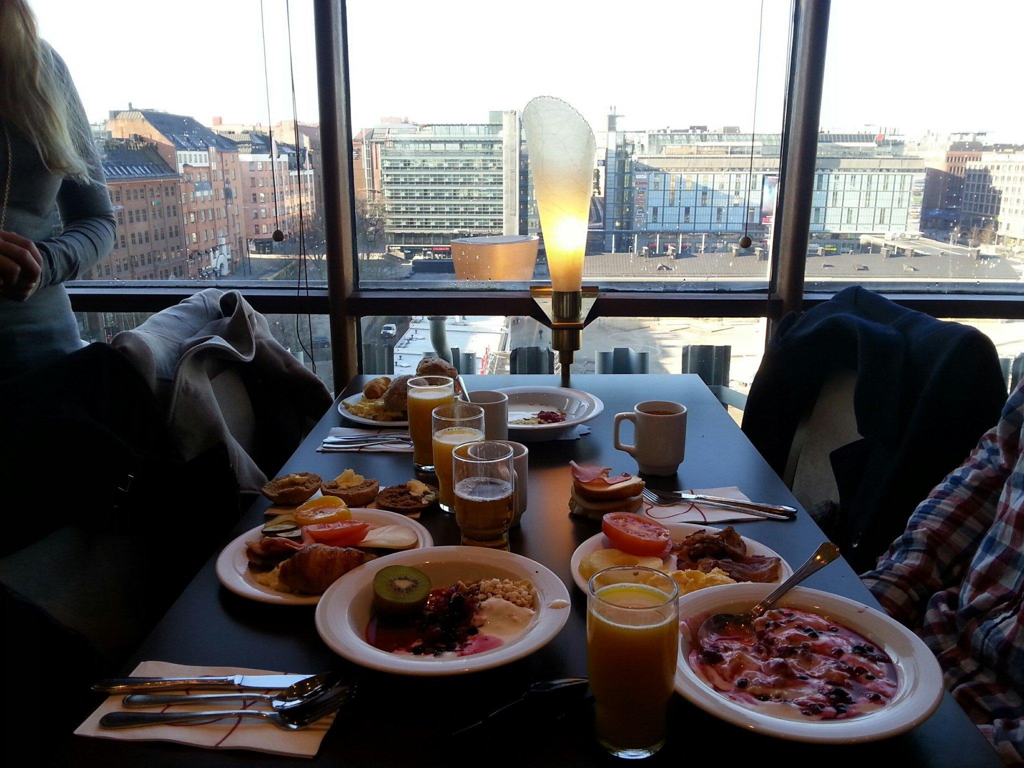 Hotelli Torni Helsinki Aamiainen Talo Kaunis Rakennuksen