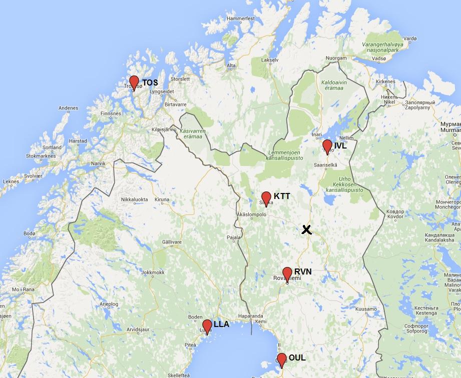 Laskettelukeskukset Suomi
