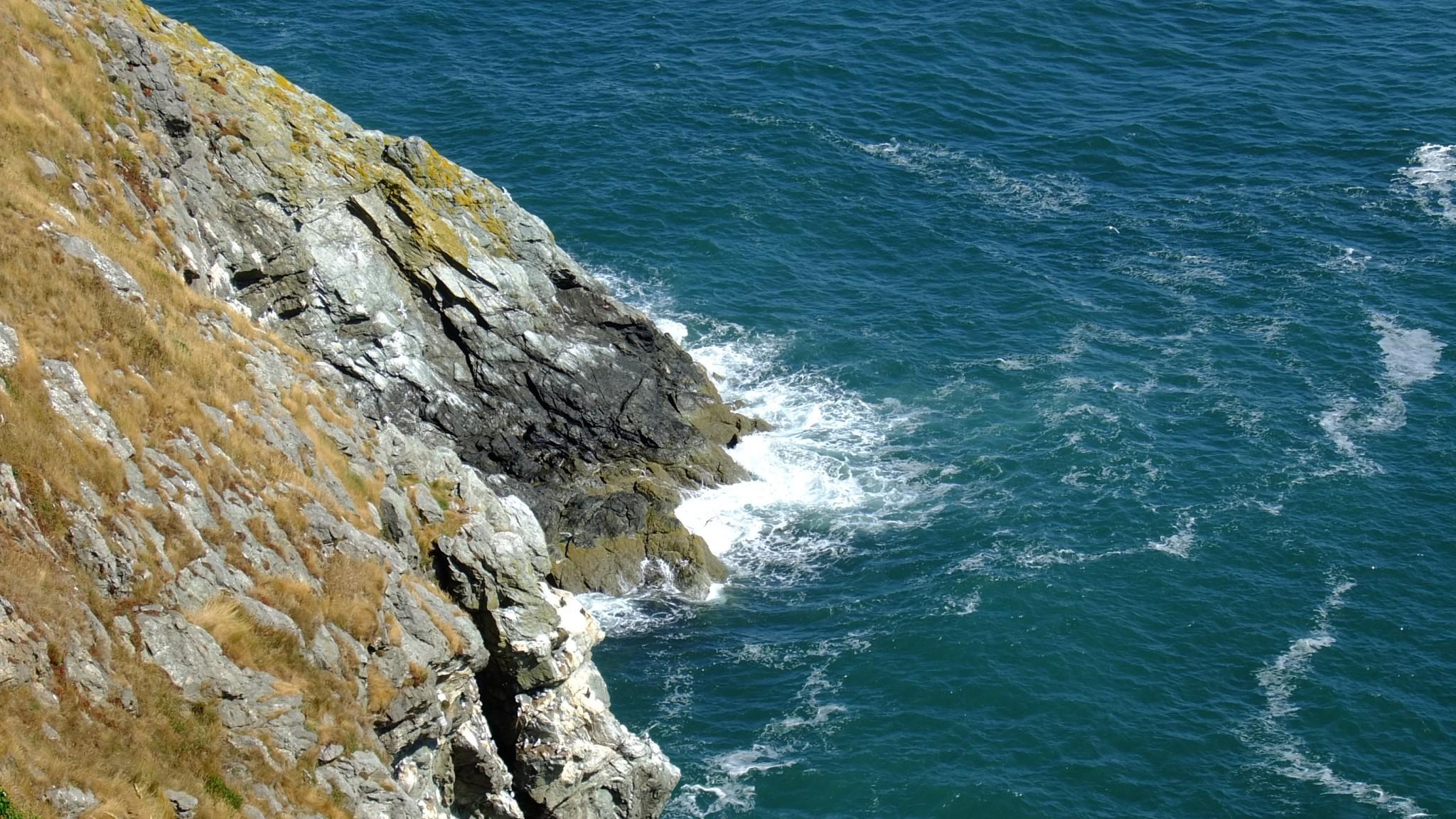 Dublinin läheltä Howthista löytyy myös kuvauksellisia jylhiä kallioita jos ei kerkeä lähteä kauemmas lyhyellä lomalla.