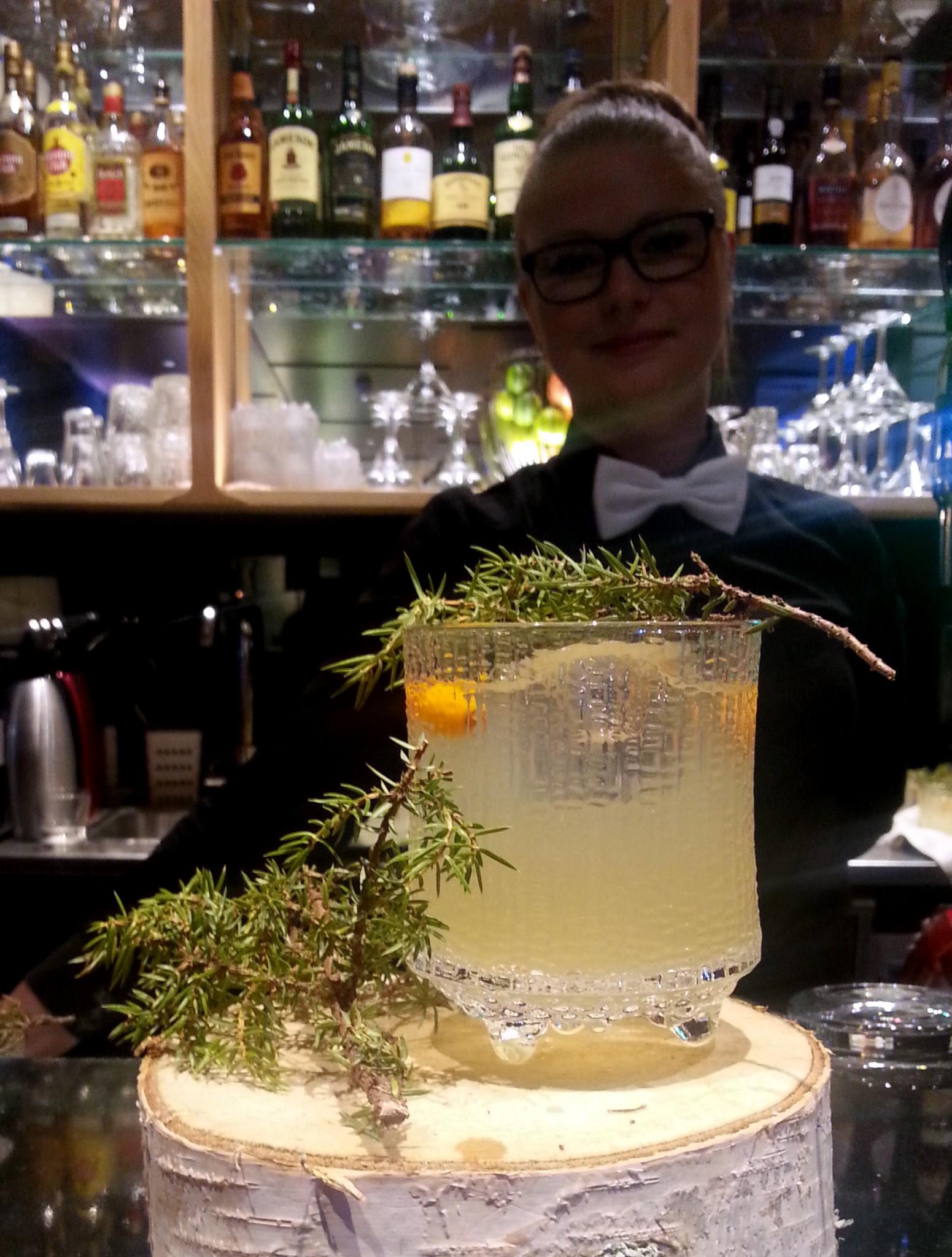 THULE - uusi Napue Gin pohjainen drinkki sai nimen! Makuja limestä, tyrnistä ja katajasta.