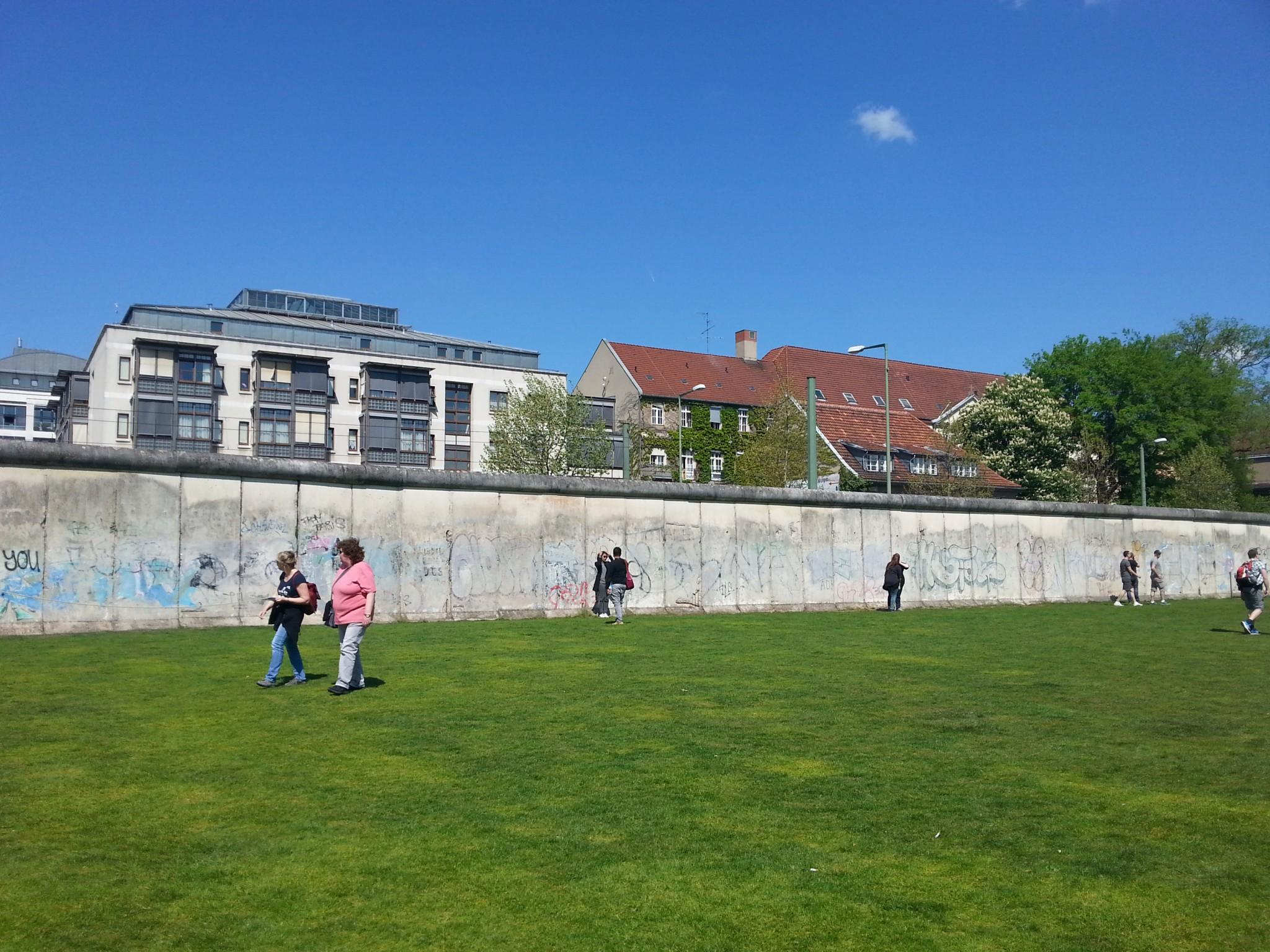 Toki me käytiin myös turisteilemassa. Berliinin muurin lisäksi olisi haluttanut nähdä paljon muutakin!