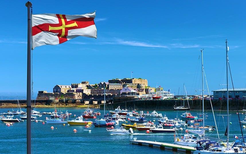 St. Peter Port Guernseyssä. Kuva: telegraph.co.uk