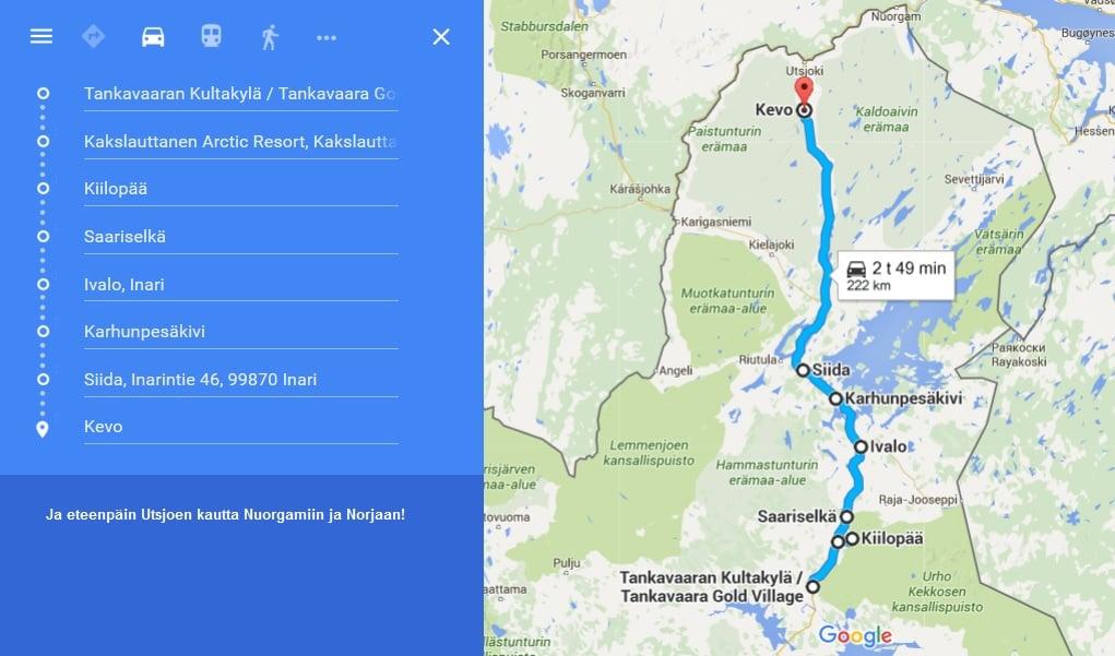 Viimeinen ja pisin etappi kohti Suomen pohjoista kärkeä!