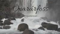 Þingvellirin piilotteleva Öxarárfoss ja peysaprinsessat