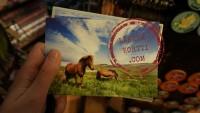 Kortteja kotiin ja Corinnalle