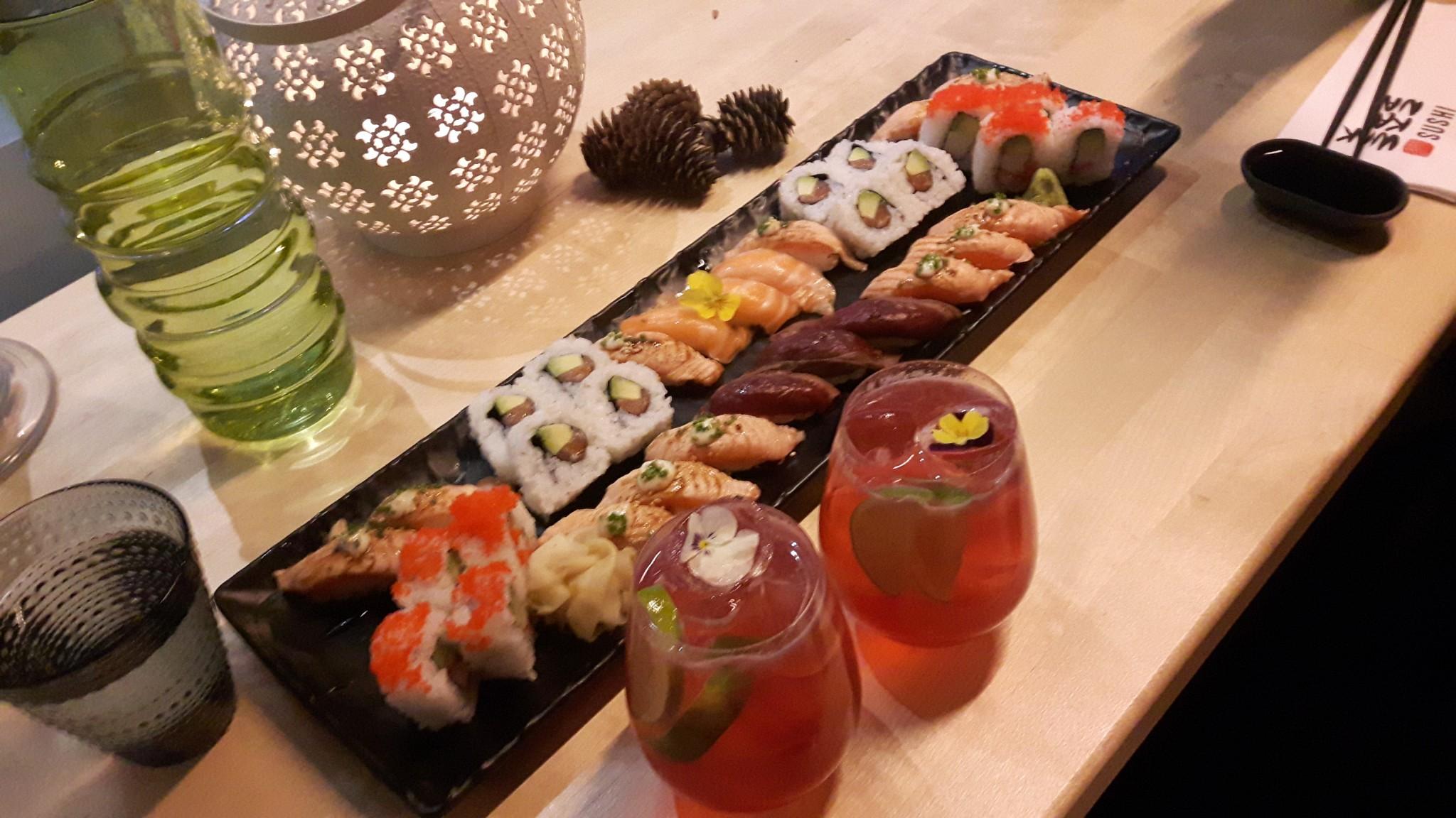 Koska Wakkanain sushi on parasta maailmassa.
