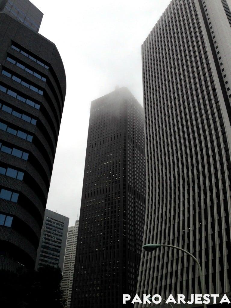 Shinjukun pilvenpiirtäjiä