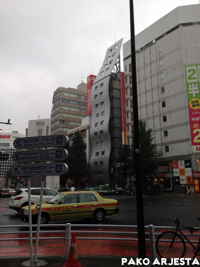 Tokio oli täynnä erikoista arkkitehtuuria