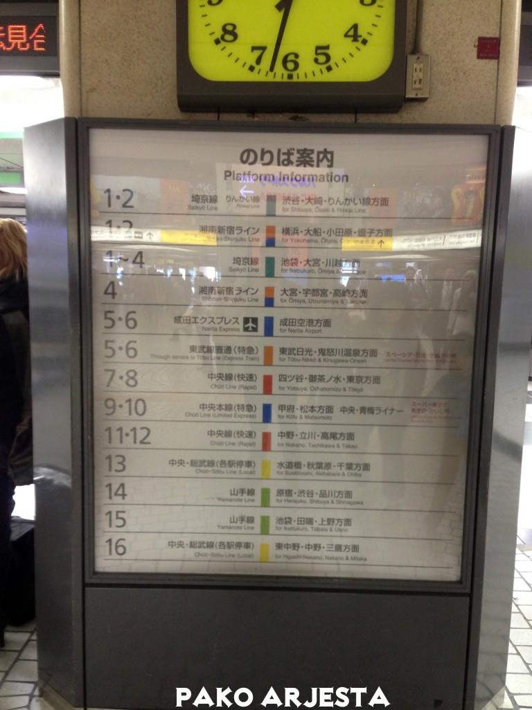 Juna- ja metrolinjoja