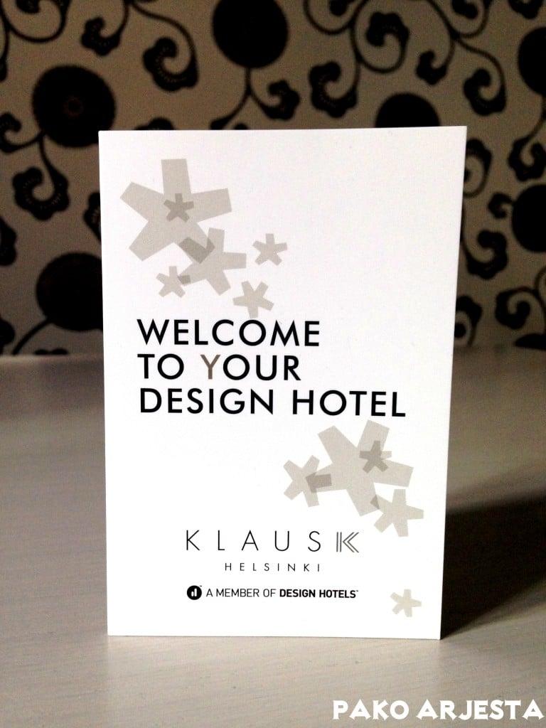 Klaus K Helsinki Envy kortti