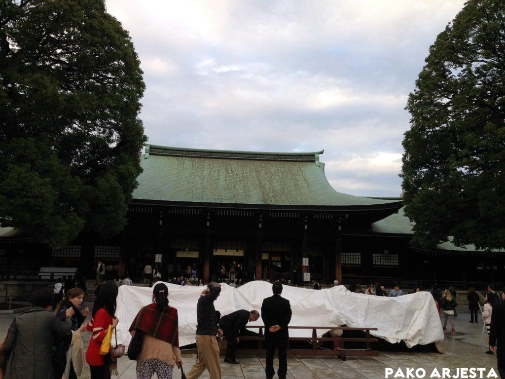 Meiji Jingun pyhättö Yoyogi-puistossa