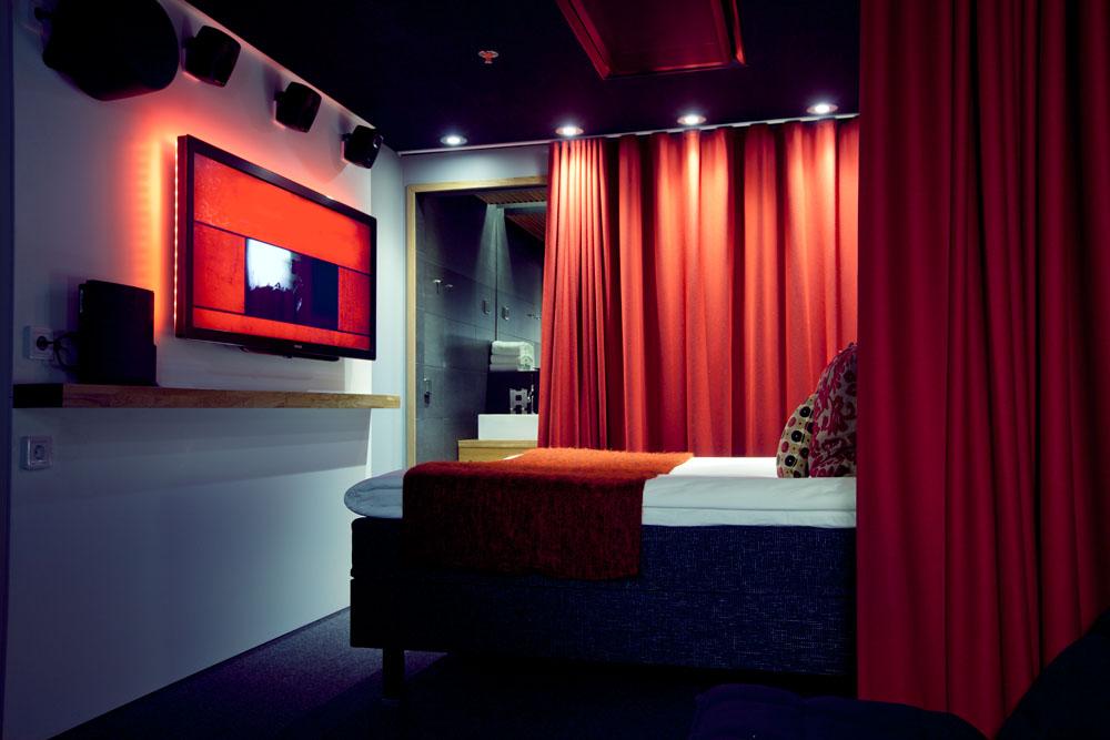 Yksi erikoishuoneista, Harri Koskisen Movie Room