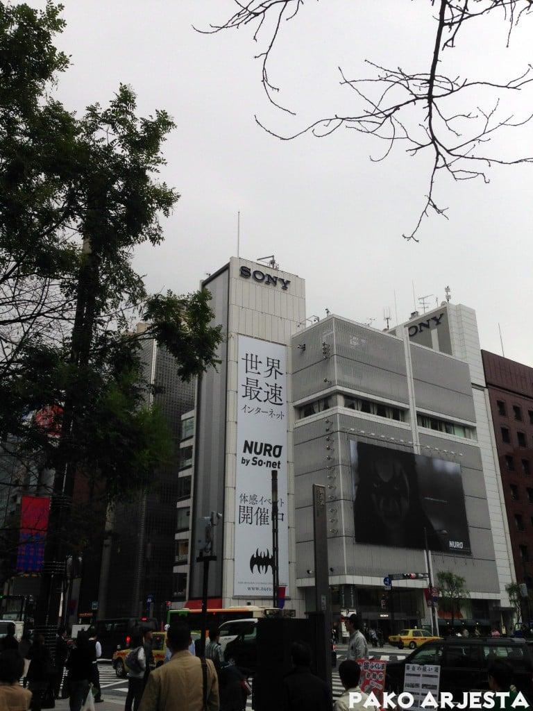 Sony Building Ginzassa