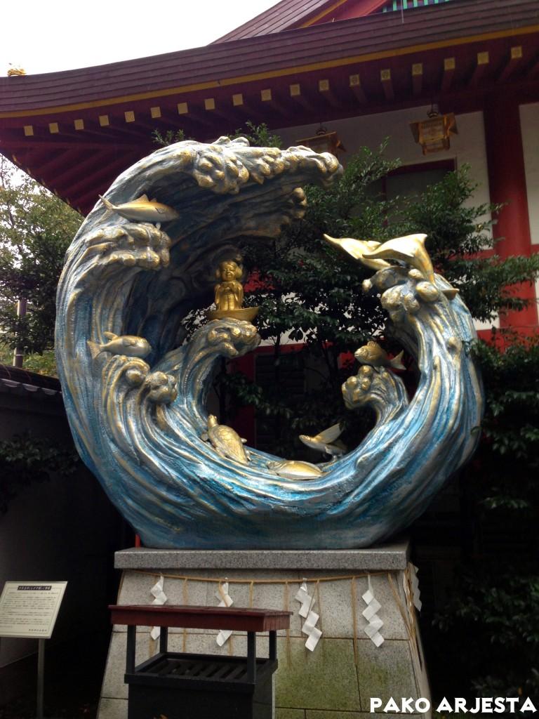 Kanda-pyhäkkö aalto Akihabara Tokio