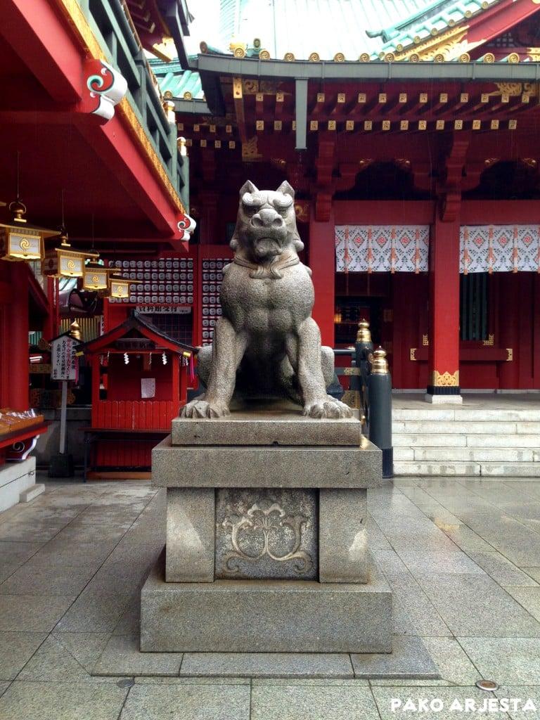 Kanda-pyhäkkö tiikeri Akihabara Tokio