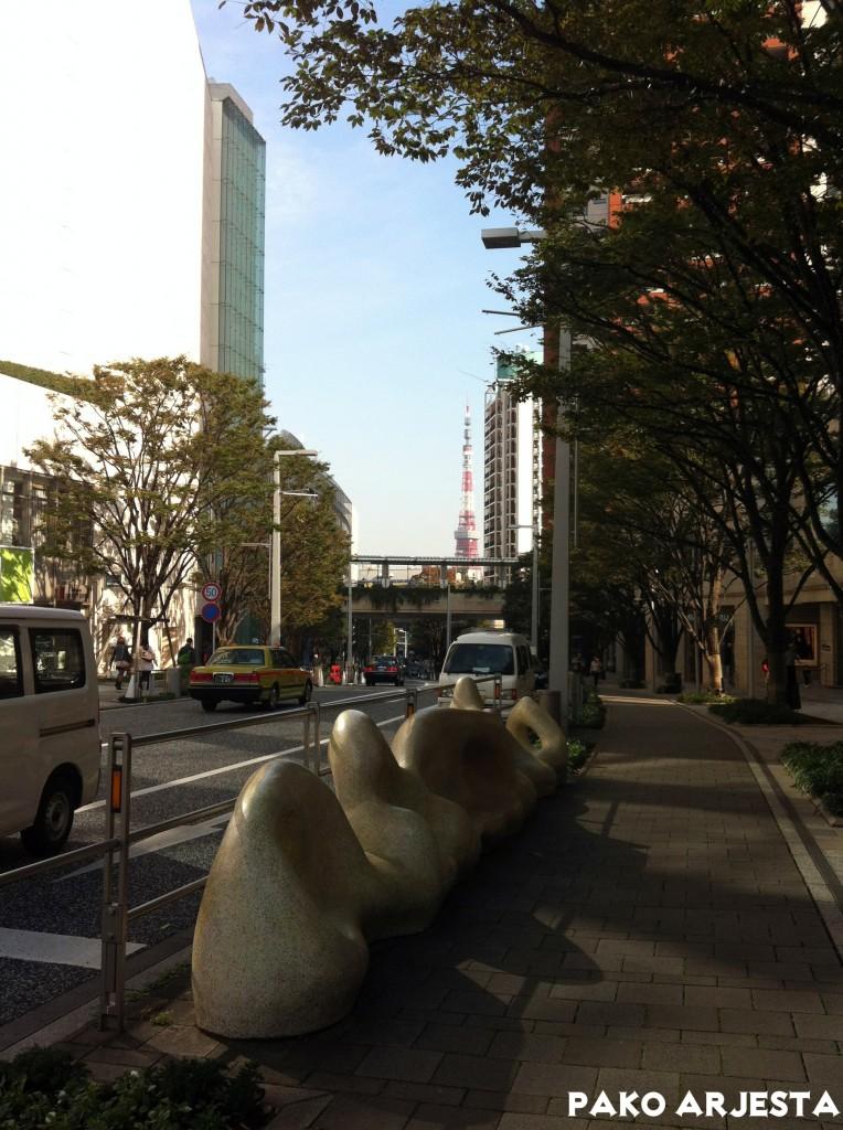 """Näimme jopa pilkahduksen """"Tokion Eiffel-tornista"""" eli Tokyo Towerista"""