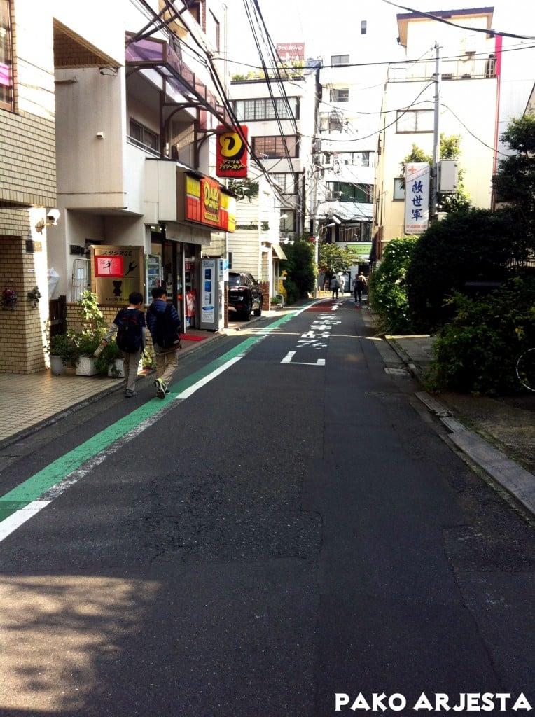 Roppongi pikkukatu Tokio