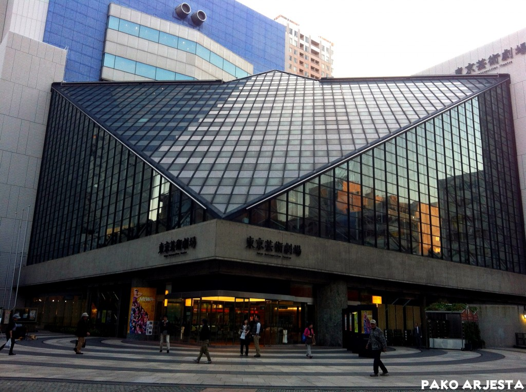 Ikebukuro rakennus Tokio