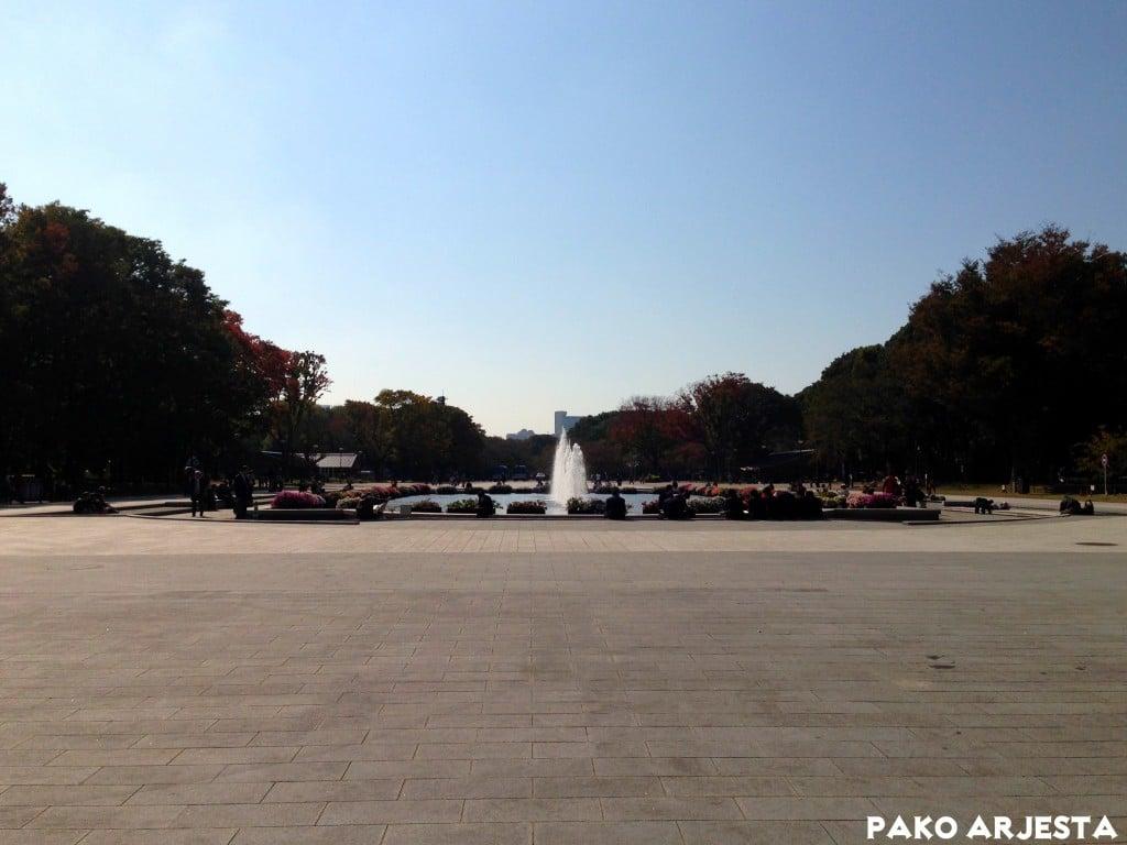 Kaunis syksyinen päivä Uenossa