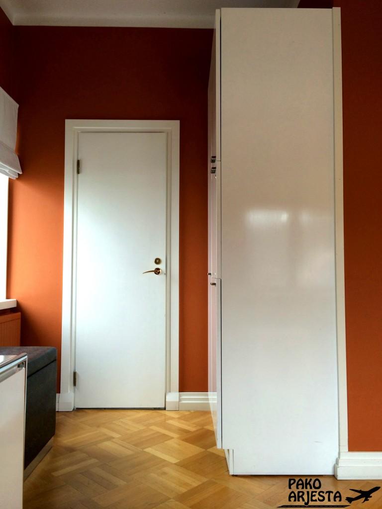 18. Hotelli Torni ovi pieni wc