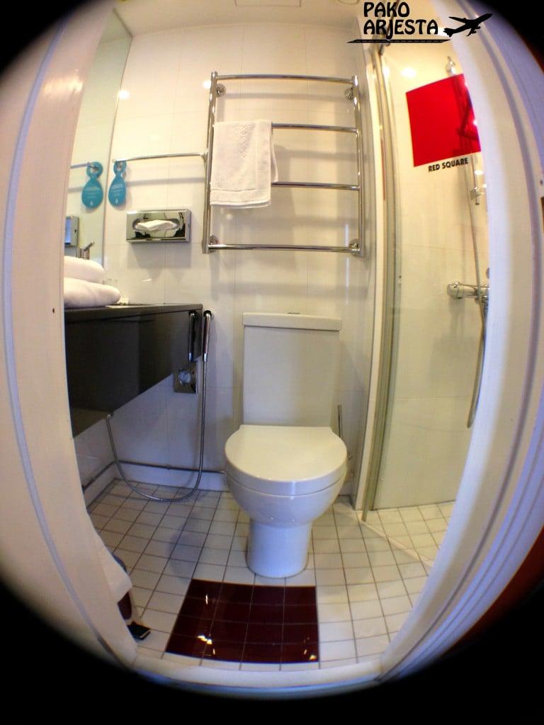 20. Hotelli Torni pieni wc fisheye