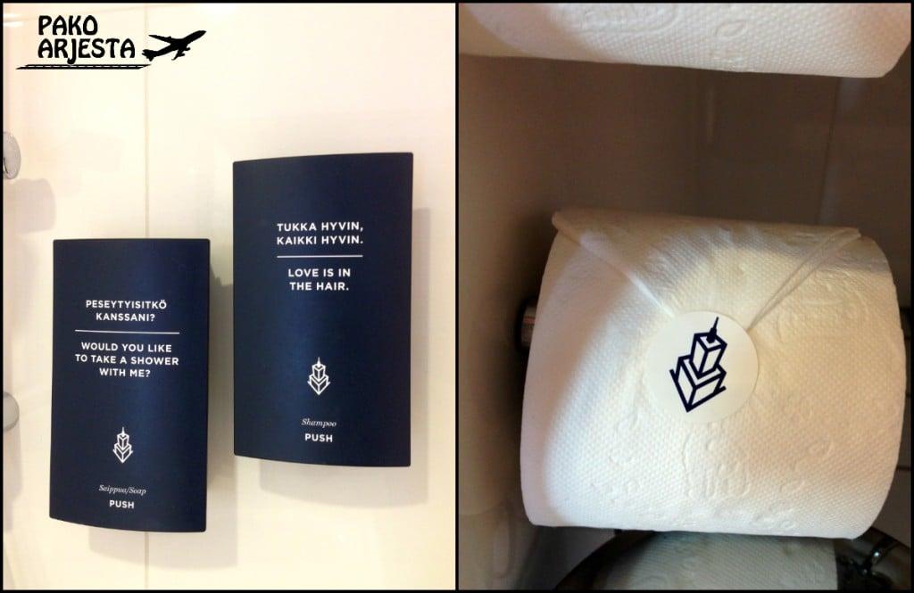 23. Hotelli Torni yksityiskohdat WC