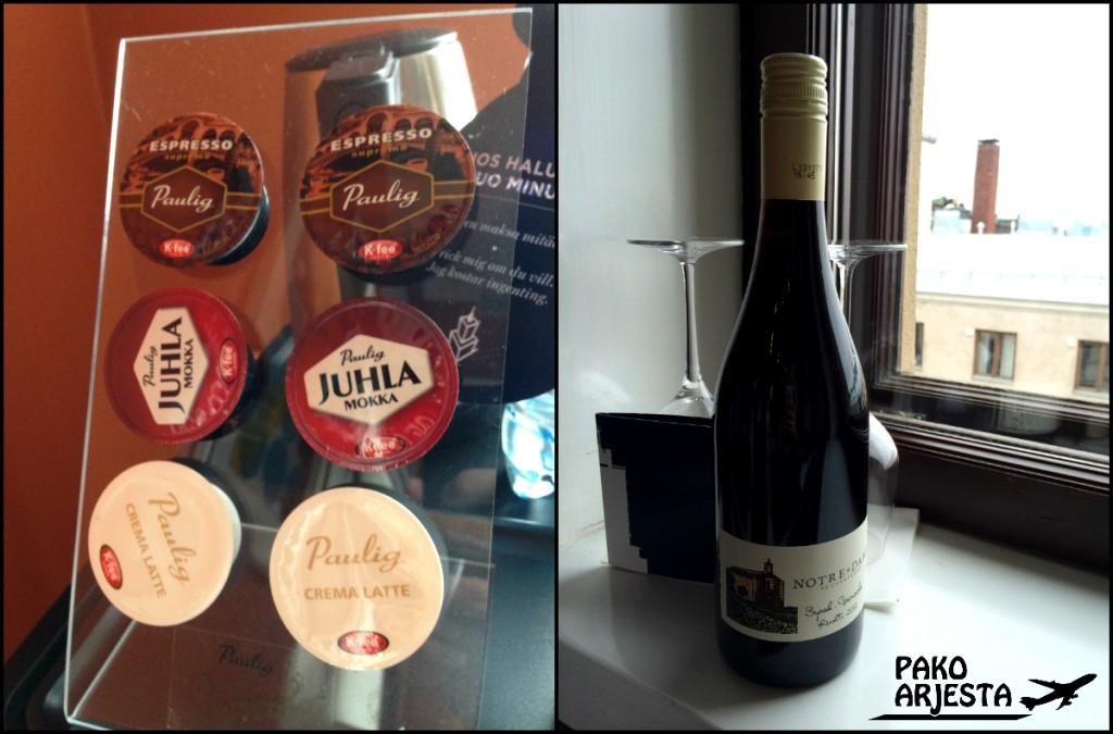 24. Hotelli Torni yksityiskohdat juomat