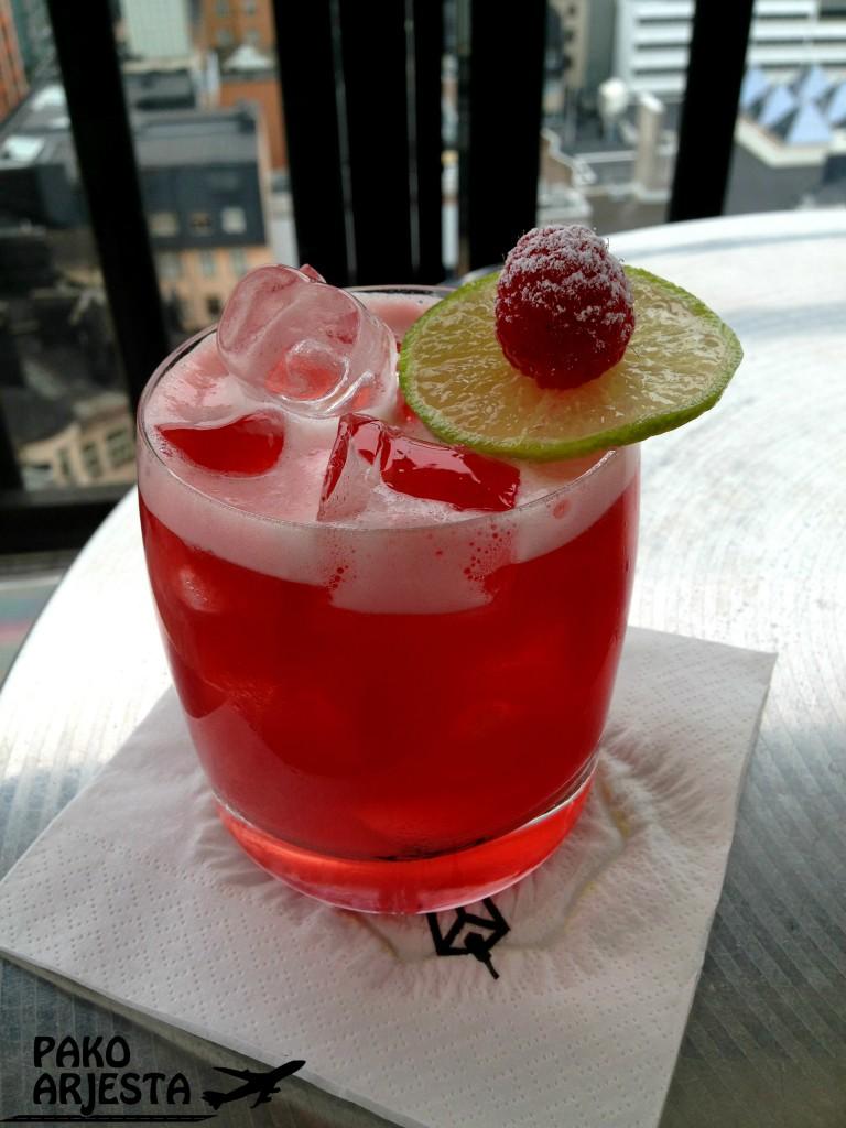 Spring Sour Cocktail