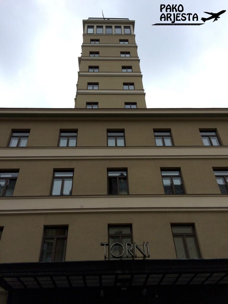 Hotelliarvostelu Solo Sokos Hotel Torni