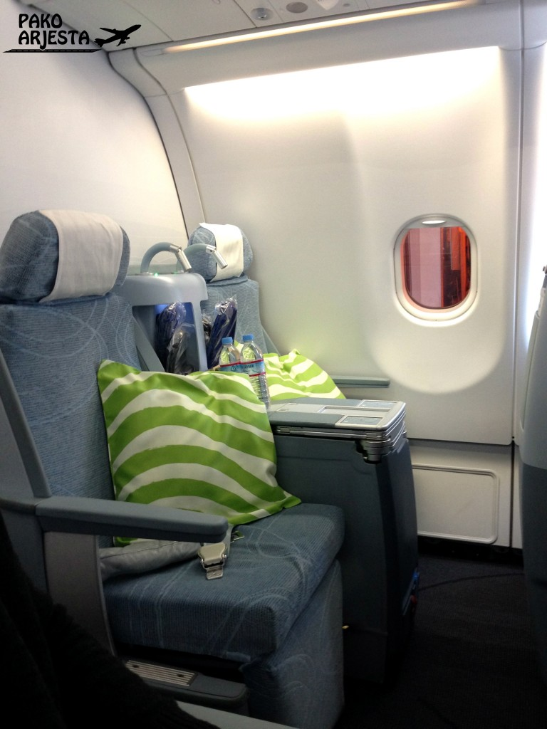 Istuimet Finnairin businessluokka