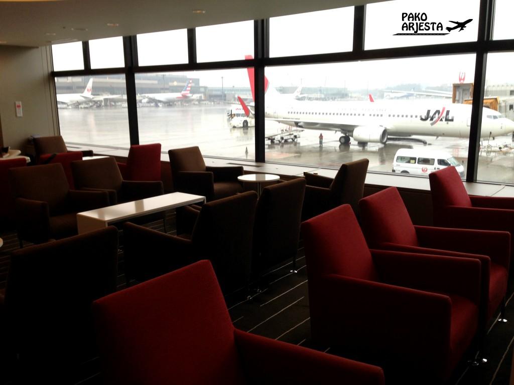 Qantasin businesslounge Naritan kentällä