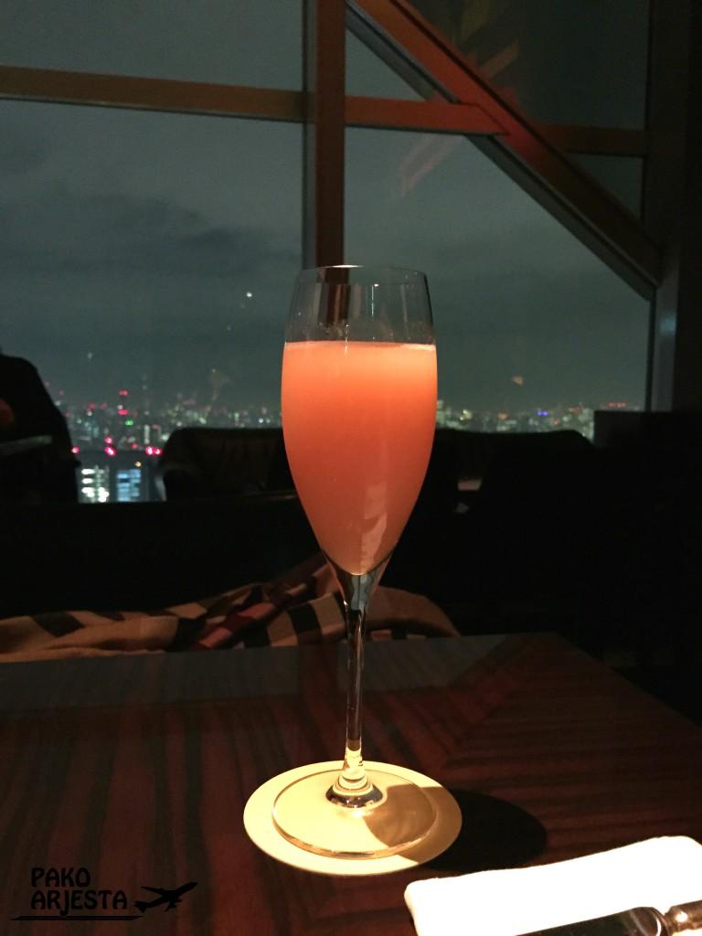 Tokio Park Hyatt drinkki 2