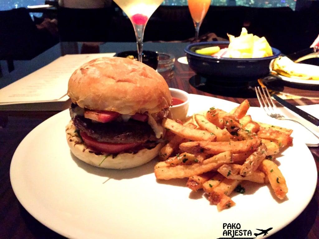 Tokio Park Hyatt hampurilainen