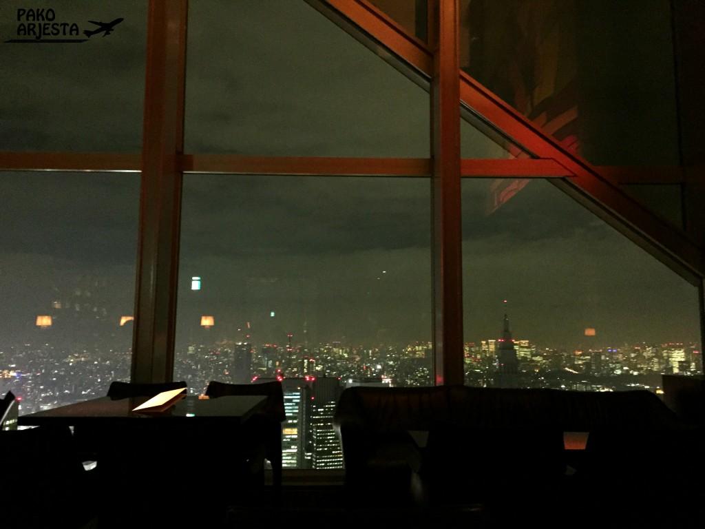 Tokio Park Hyatt näköala