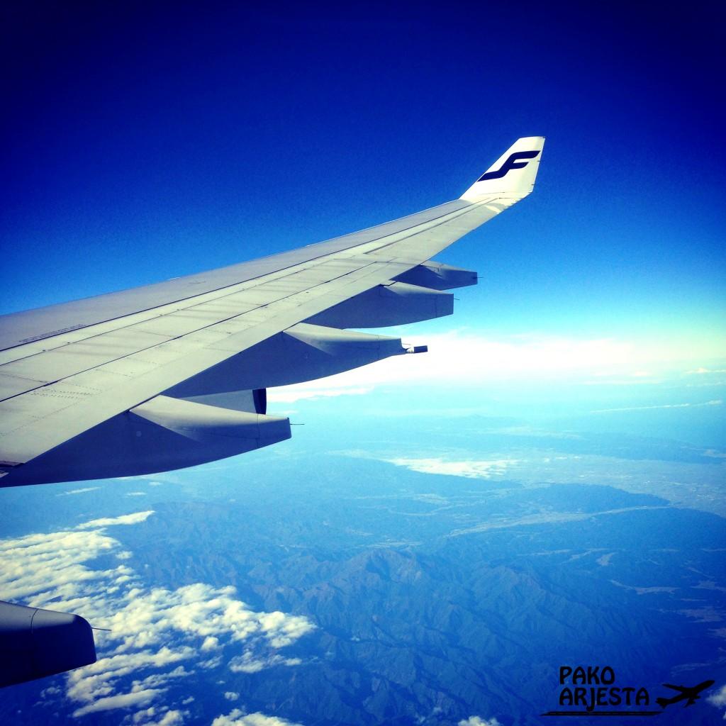 Matkalla Tokioon