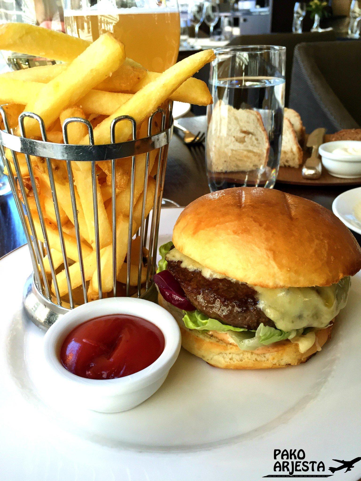 Kämp Brasserie Burger