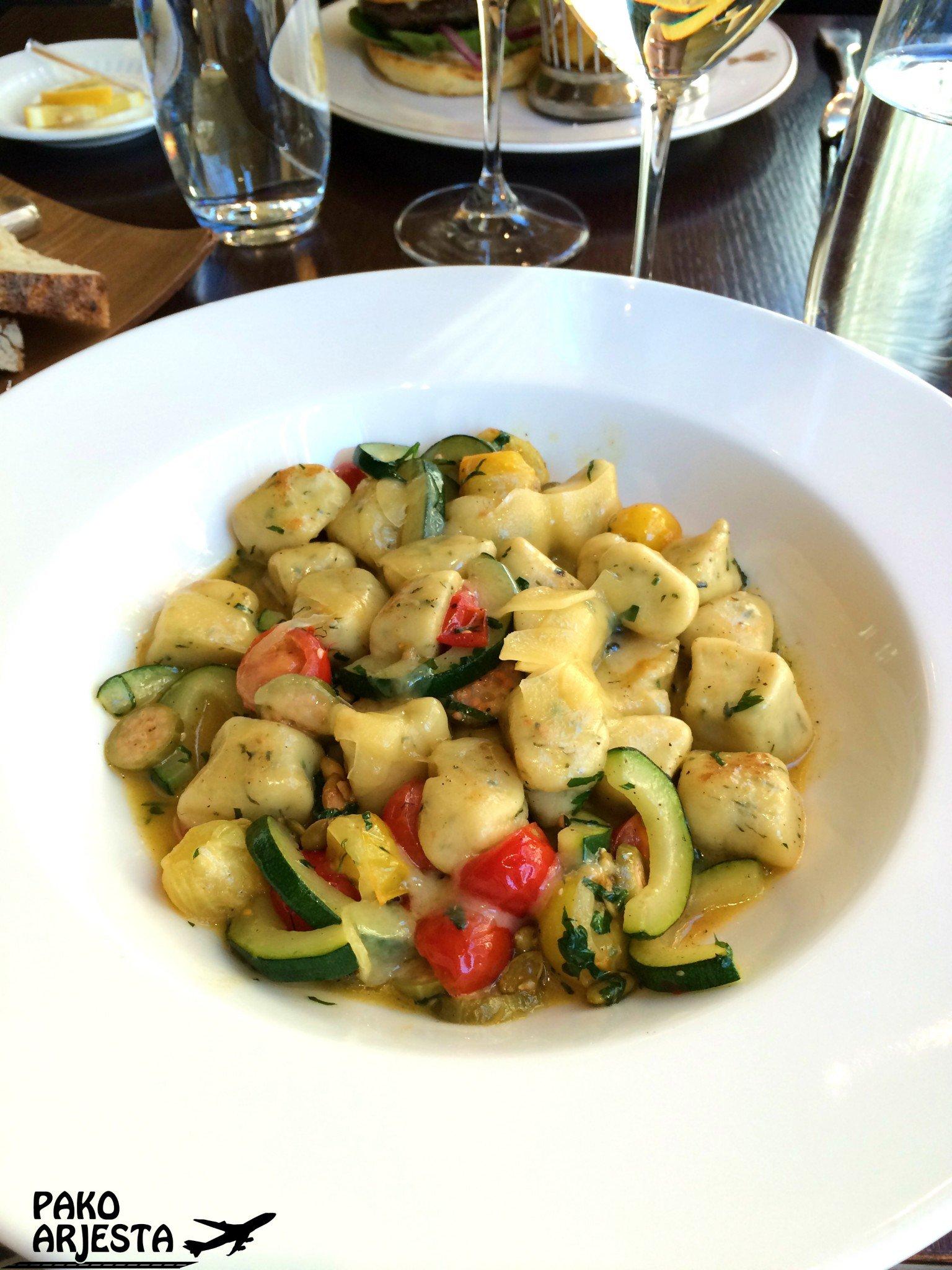 Kämp Brasserie Gnocchi