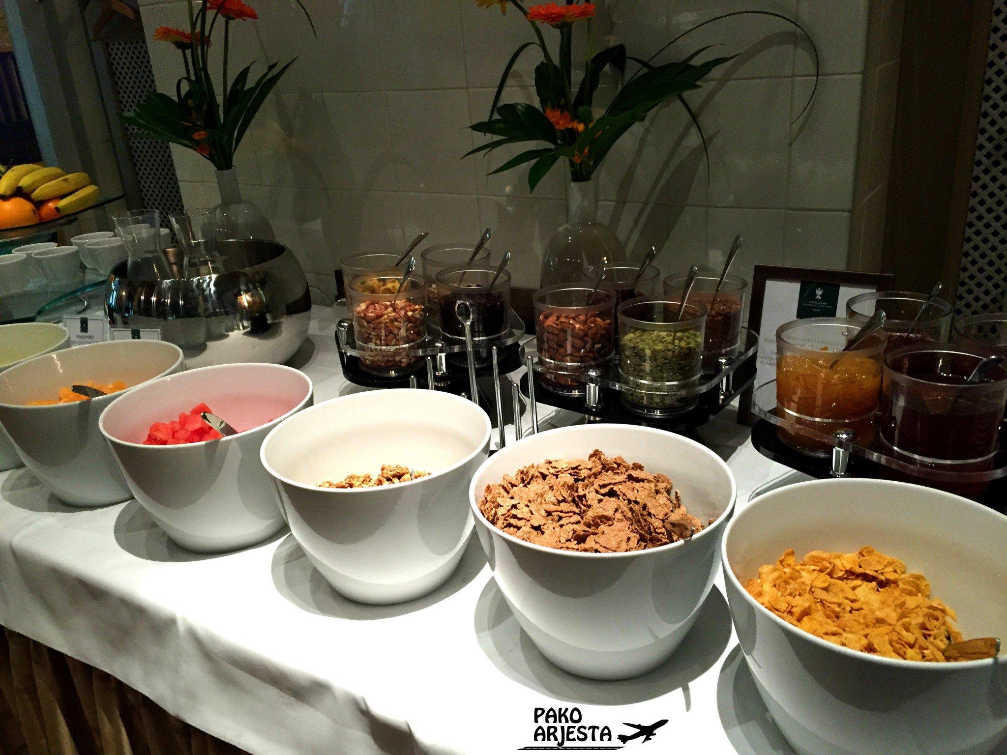 Kämp Brasserie aamiainen 2