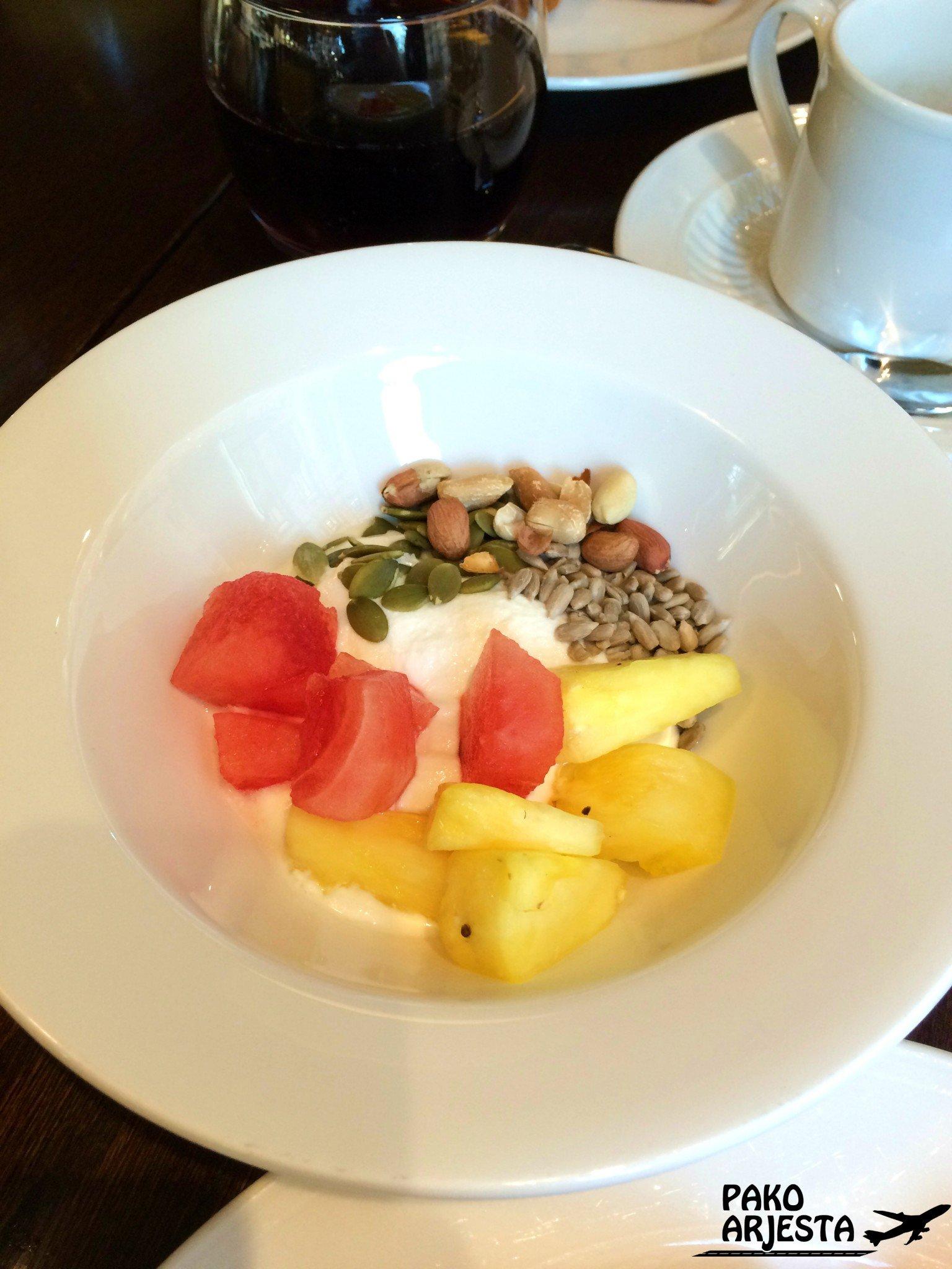 Kämp Brasserie hedelmät