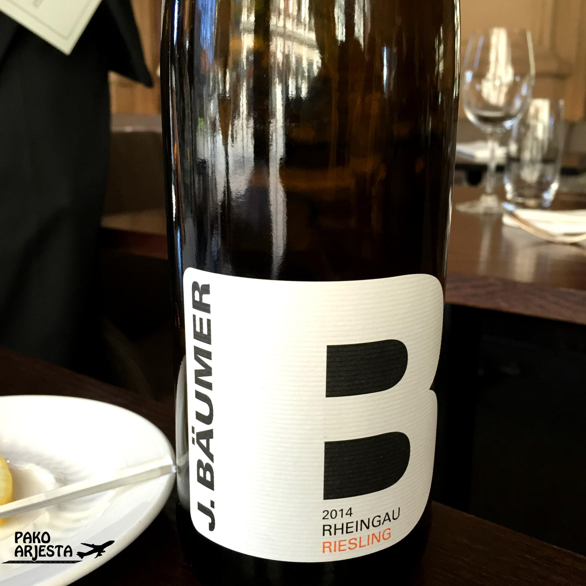 Kämp Brasserie valkoviini