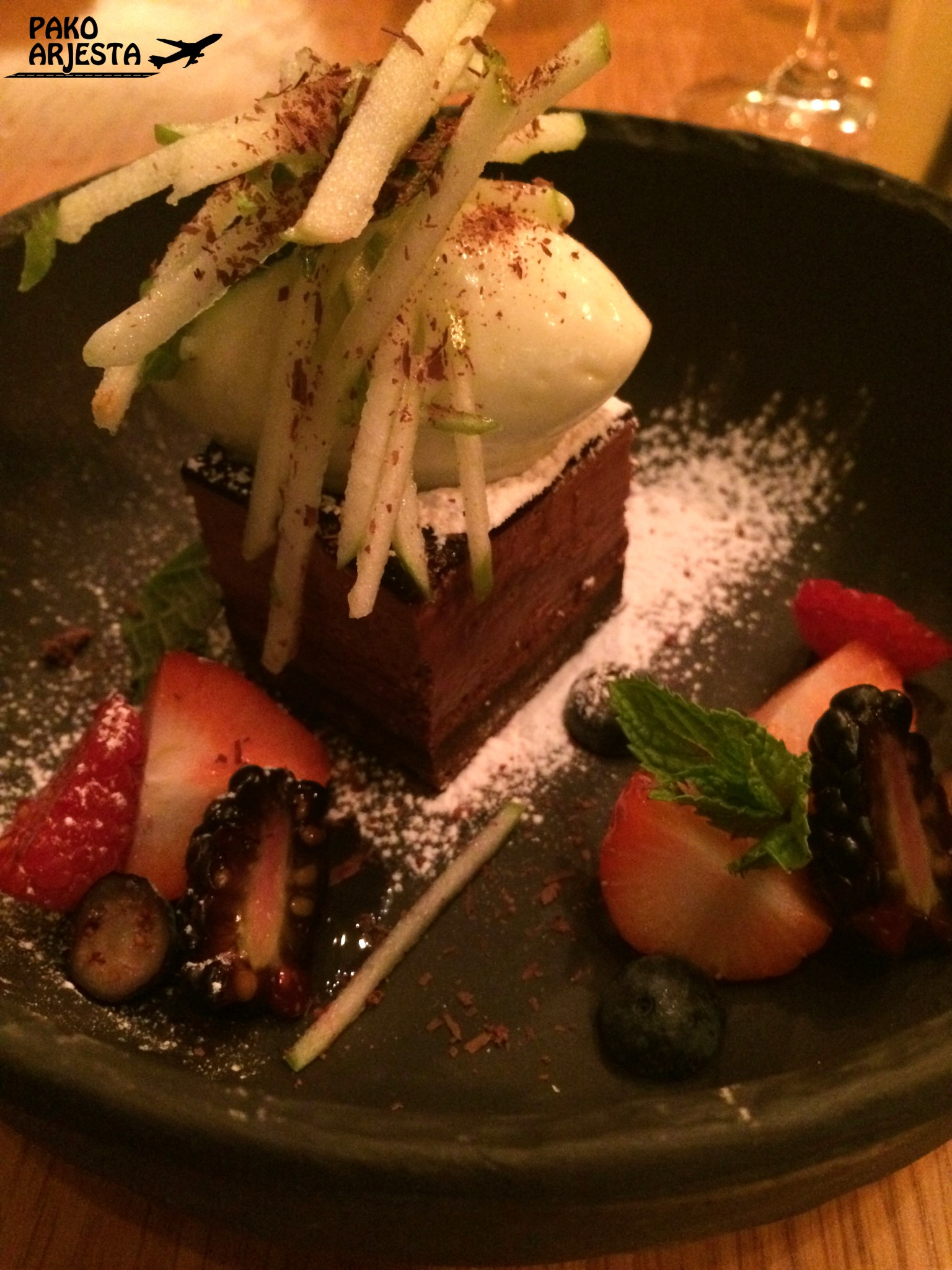 Yume Samurai cake