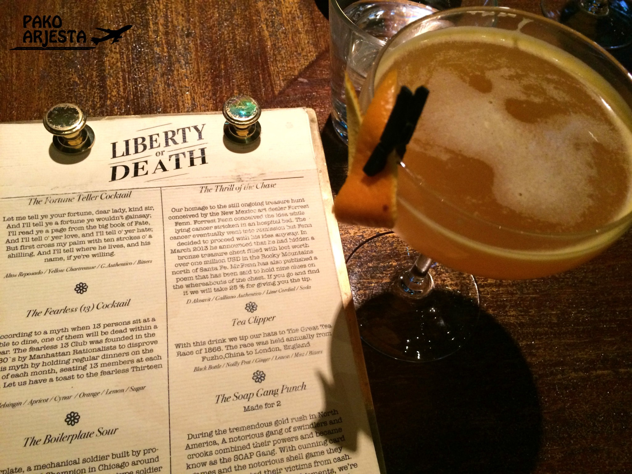 Liberty or Death lista