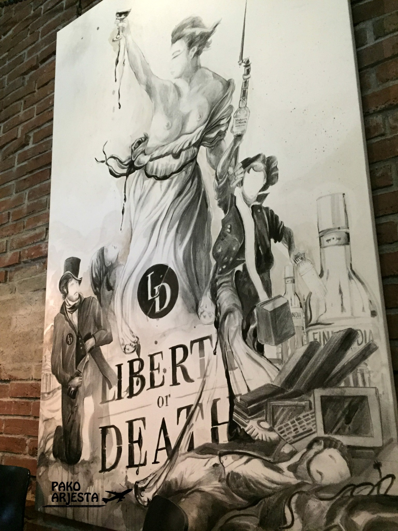 Liberty or Death taideteos