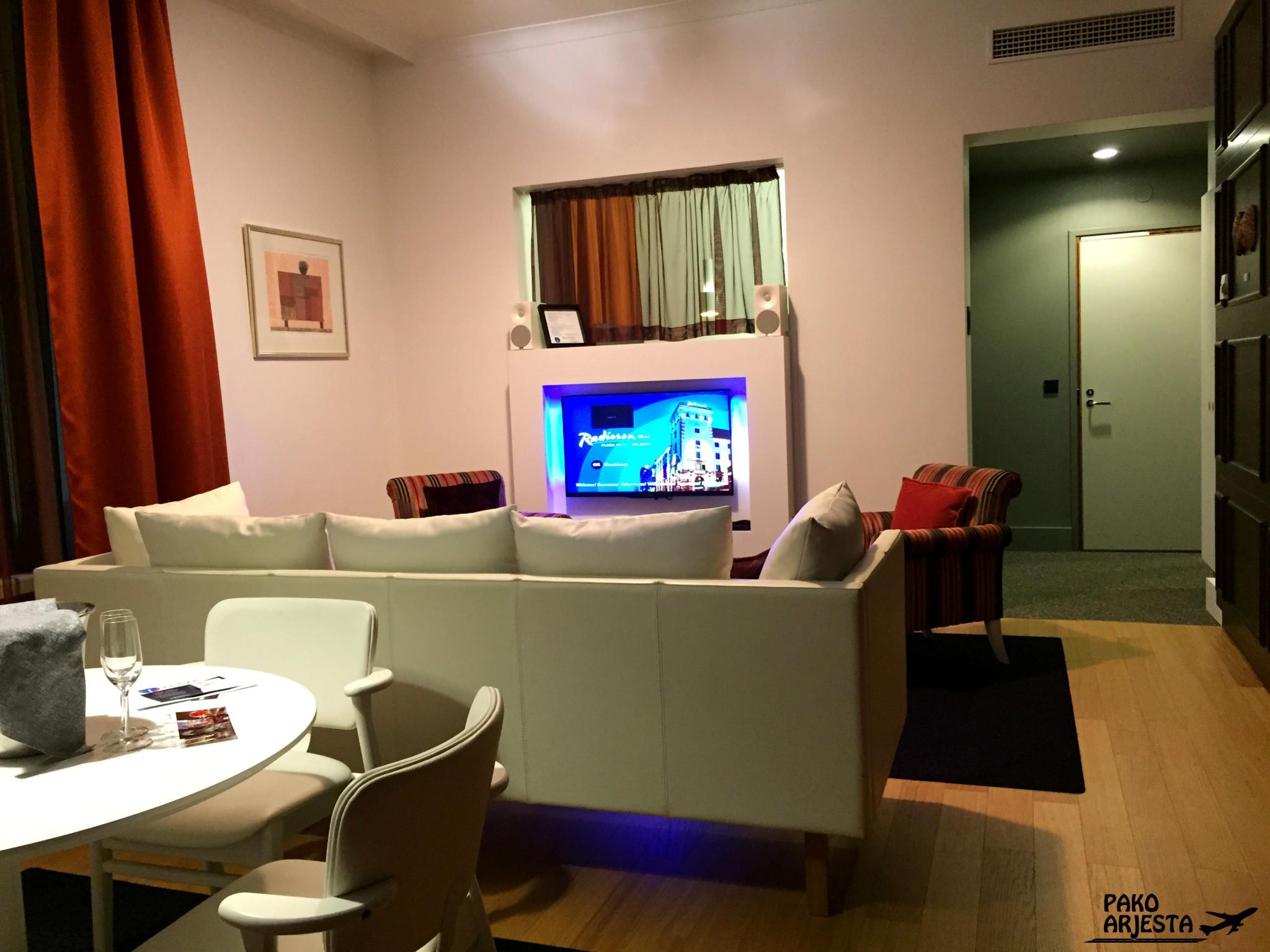 Radisson Blu Plaza Helsinki Kauno Suite 5