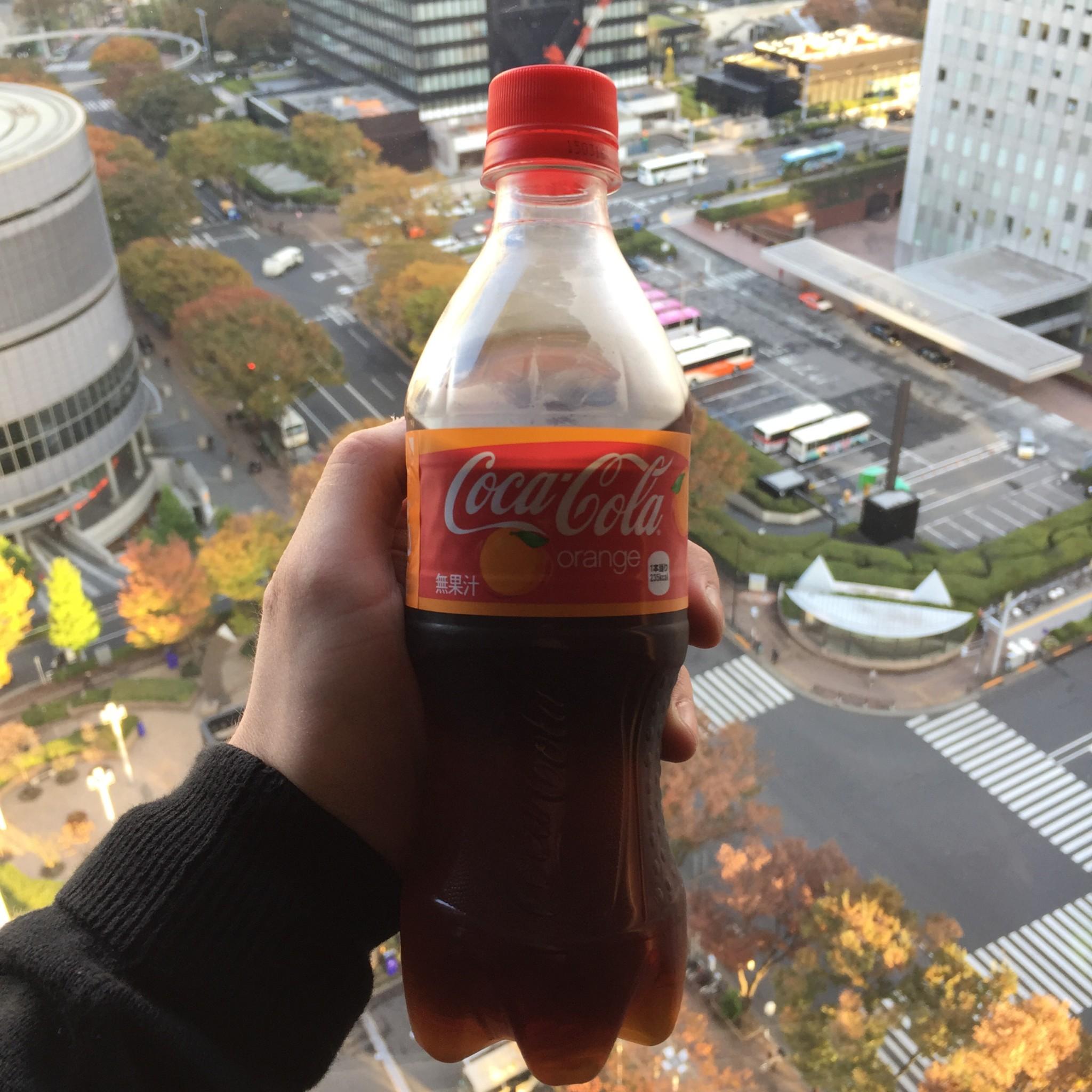 Coca Cola Orange