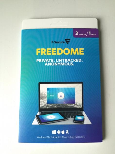 F-Secure Freedome paketti